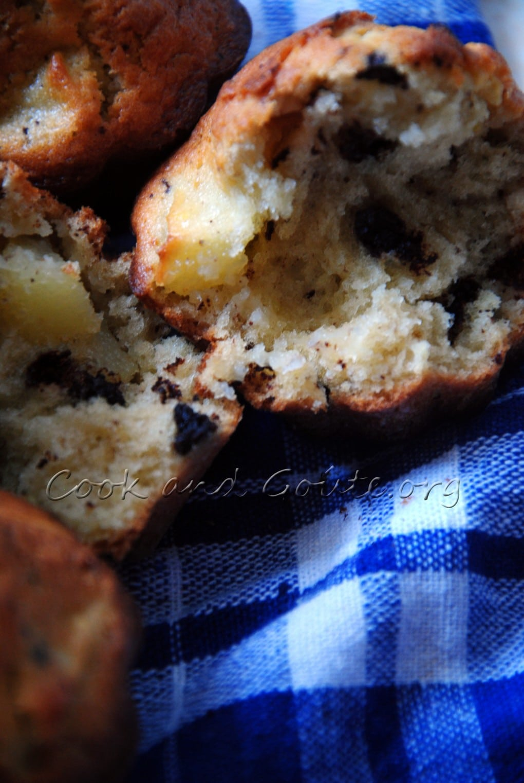 Muffins pommes